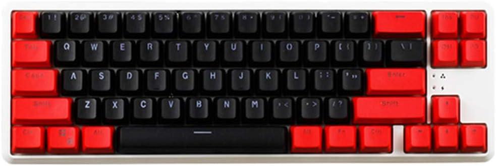 KEEZSHOP Keycaps, 68 Teclas Keycaps Backlight Teclado ...
