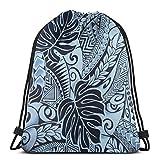 shenguang Rose Floral Pattern Rose Stampe Textures Unisex Home Gym Sack Bag Borsa Sportiva con Coulisse