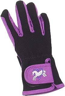 Ovation Child Heart & Horse Gloves