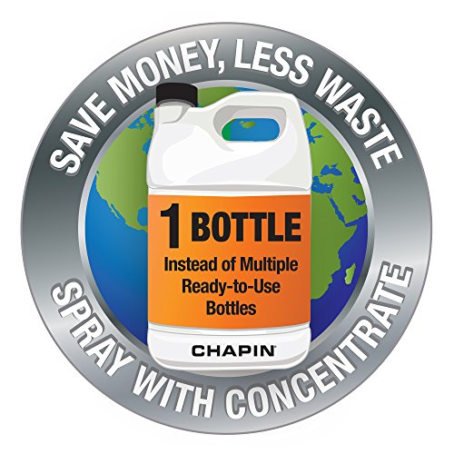 CHAPIN 20002 2 Gallon Lawn, Sprayer, Translucent White