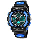 SOKY Gifts for Boys Age 6-15, LED 50M Waterproof Digital Watch for Kids...