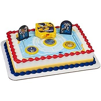 Admirable Amazon Com Transformers 10 Piece Birthday Cake Topper Set Funny Birthday Cards Online Ioscodamsfinfo