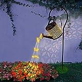 Luci da giardino a LED per bollitore, lampada da giardino creativa con cielo stellato, innaffiatoio impermeabile, luce cielo stellato da giardino per esterni giardino prato decorazione