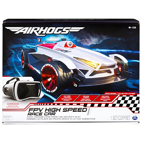 Air Hogs 6039596 - FPV Race Car, Kamera im Cockpit, hautnahes Rennerlebnis