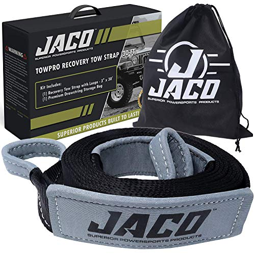 JACO TowPro Recovery Tow Strap (3' x 30 ft)