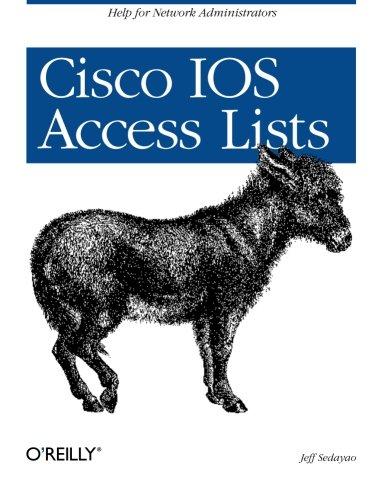 Cisco IOS Access Lists (Classique Us)