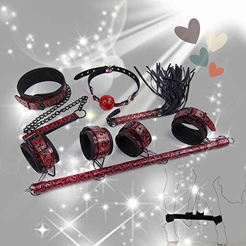 CareUToo 4 Pezzi di Lusso Diamante Modello Caviglia Peso Polso Peso Kit Fitness Esercizio Rosso
