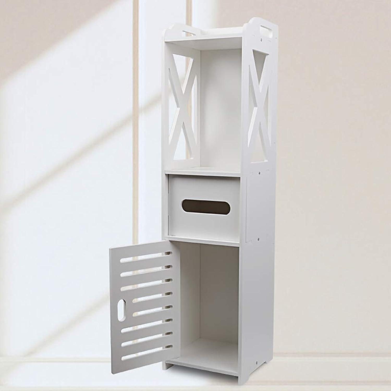 Bathroom Cabinets, Furniture for Living Room Bedroom, Kitchen Hallway, Bathroom Toilet,High Capacity,Wood Plastic,Bathroom Shelf