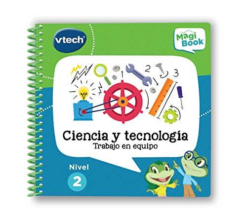 VTech - Libro aprende Ciencia y Tecnologa Stem-MagiBook (80-480922)