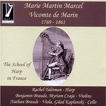 Marie-Martin Marcel de Marin: The School of Harp in France