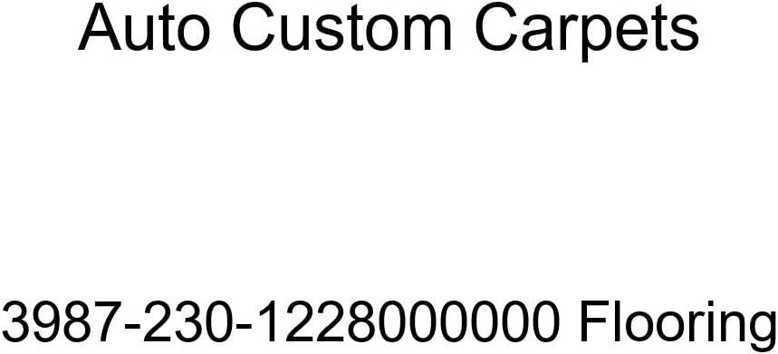 Auto Custom Carpets Flooring NEW before selling ☆ 3987-230-1228000000 Max 42% OFF
