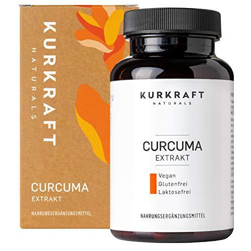 Kurkraft Curcuma Extrakt - Curcumingehalt einer Kapsel entspricht dem von ca. 16.000mg Kurkuma - Einführung - Hochdosiert mit 95% Extrakt - Vegan - Ohne Zusätze