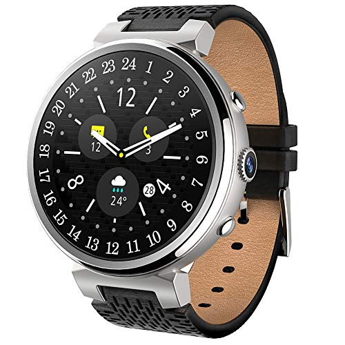 smart watch I6 WiFi, Fitness Tracker Android5.1, 512 Mb + 8 Gb / 2 Gb + 16 Gb, GPS-Herzfrequenz/Blutdruck / Pedometer/Kalorien, FüR Android Und Ios - Zwei Farben Optional