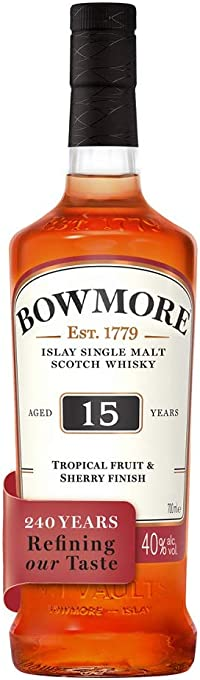 Bowmore 15 Year Old 700mL
