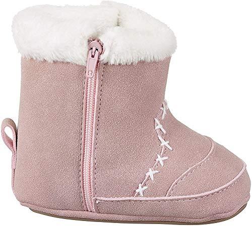 Sterntaler Mädchen Baby Stiefel mit Reißverschluss, Farbe: Geranie, Größe: 15/16, Alter: 4-6 Monate, Artikel-Nr.: 5301503