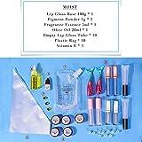 Lip Plumper - Pintalabios con Base de Aceite Antiadherente, para Hacer Brillos de Labios, Base para...