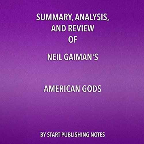 Summary, Analysis, and Review of Neil Gaiman's American Gods cover art