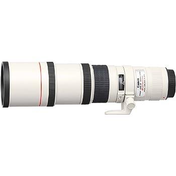 Canon Superteleobjektiv EF 400mm F5.6L USM für EOS (Festbrennweite, 77mm Filtergewinde, Optischer Bildstabilisator, Autofokus), hellgrau/schwarz