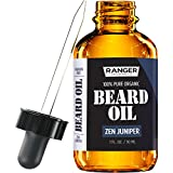 Zen Beard Oil & Leave in Conditioner, 100% Pure Natural Organic for Groomed Beards, Mustaches, and Moisturized Skin 1 oz by Ranger Grooming Co by Leven Rose