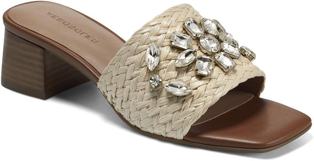 Aerosoles Women's Raffia Heeled Sandal