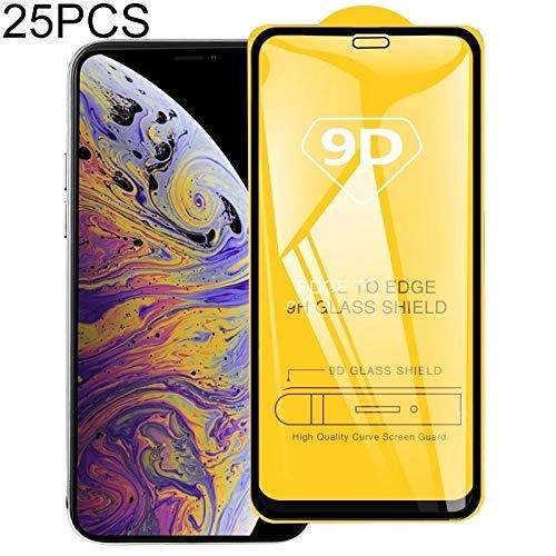 Nieuwe Tangyong CL 25 PCS 9H 9D Volledig Scherm Gehard Glas Screen Protector voor iPhone Xs Max/XI Max (2019)