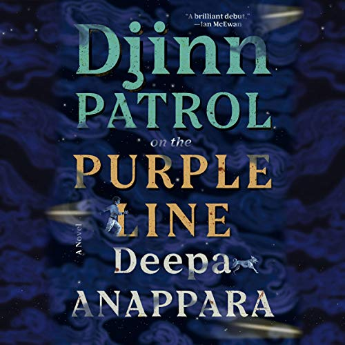 Djinn Patrol on the Purple Line audiobook cover art