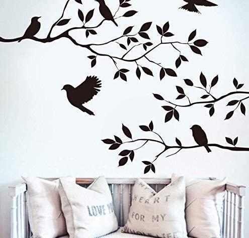 Dekorativer Vinylaufkleber für Inneneinrichtung für Wohnzimmer-, Schlafzimmer-, Fernseh- und/oder Wandhintergrund.