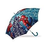 CARTOON GROUP Ombrello Spiderman Marvel Uomo Ragno 8 Raggi 67 CM Bambino - MV15784