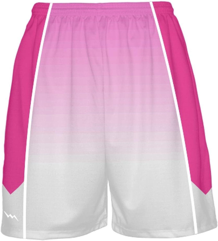 6a3e77a73cb51 LightningWear Hot Pink Basketball Shorts - Ombre Fade Basketball Basketball  Basketball Shorts - Men's Basketball Shorts 268754