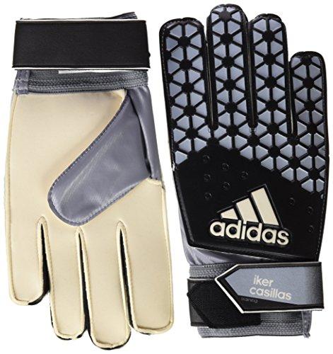 adidas Ace Training IC Guantes de Portero, Unisex, Blanco/Negro/Gris, L
