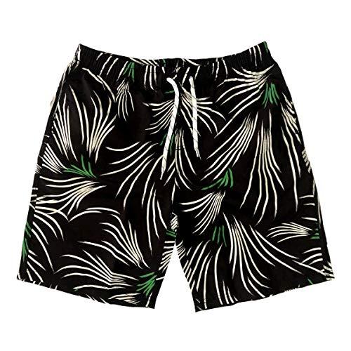 nothing Pantalones de playa, bañador, esquinas planas, secado rápido, deportes de playa, pantalones cortos