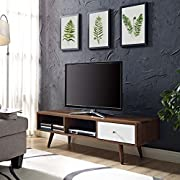 Modway Transmit Nightstand, TV Stand, Sideboard, Coffee Table and Bookcase