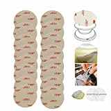 Super Strong Replacement Adhesive Stickers Pads Double Sided Tape 3-M Removable 1.35 in
