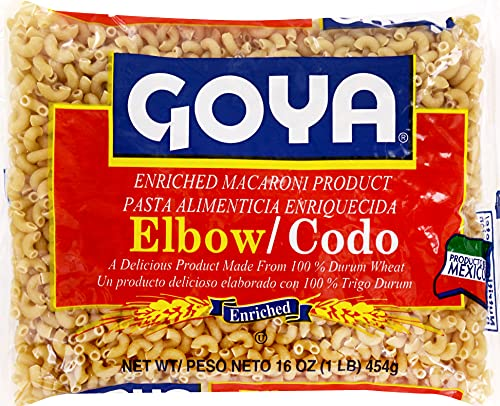 Goya Elbow Macaroni, 16 oz
