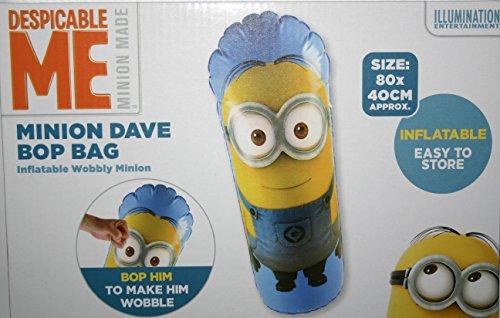 Minion Dave - Bolso hinchable de peluche (80 x 40 cm), diseño de Minion