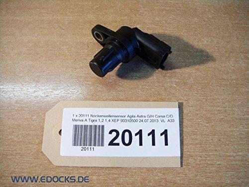 Nockenwellensensor Agila Astra G/H Corsa C/D Meriva A Tigra 1,0 1,2 1,4 XEP Opel