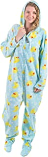 Forever Lazy Unisex Footed Adult Onesie One-Piece Pajamas