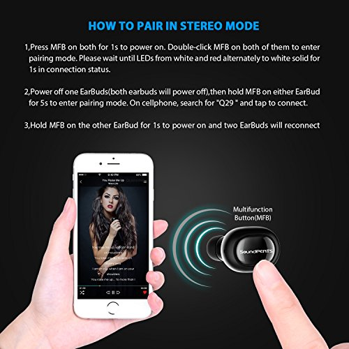 SoundPEATS Q29, Auriculares Bluetooth...
