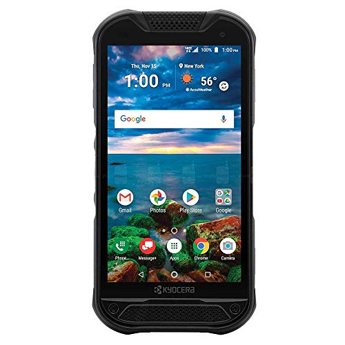 Kyocera DuraForce Pro 2 with Dragontrail PRO Display E6921 Black - Unlocked | Rugged 4G Android Smart Phone (Renewed)