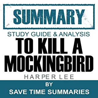 To Kill a Mockingbird: Summary, Review & Study Guide - Nelle Harper Lee cover art