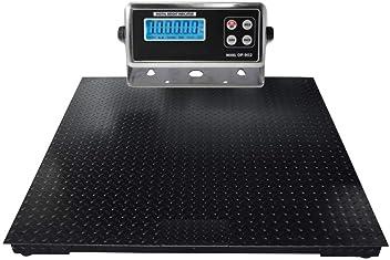 4 X 5 Heavy Duty Floor Scale with Ramp /& Printer 2500 Lbs X .5 Lb Selleton 48 X 60
