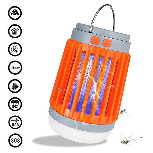 LEIWOOR Mosquito Killer Lamp 2 in 1 Camping Lantern Lights,Bug Zapper,Mosquito Repellent for Indoor, Outdoor, Camping, Emergencies