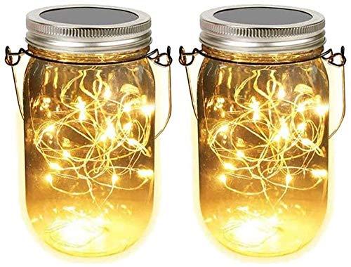 noël batterie DEL String Lights Lumière... Lot de 3 solaire Mason Jar Couvercle