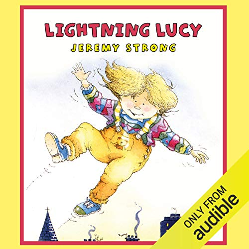 Lightning Lucy audiobook cover art
