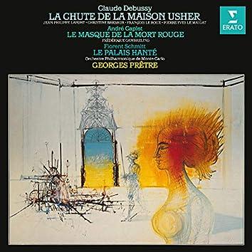 Debussy: La chute de la maison Usher - Caplet: Le masque de la mort rouge - Schmitt: Le palais hanté