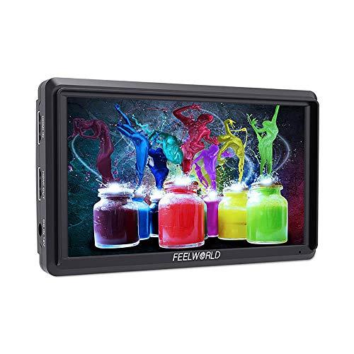 Feelworld fw568 Videocamera Monitor da Campo Video Assistant con...