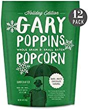 product image for Gary Poppins Popcorn - Dark + White Chocolate (6oz) - 12 Pack Flavored Popped Corn HOLIDAY EDITION