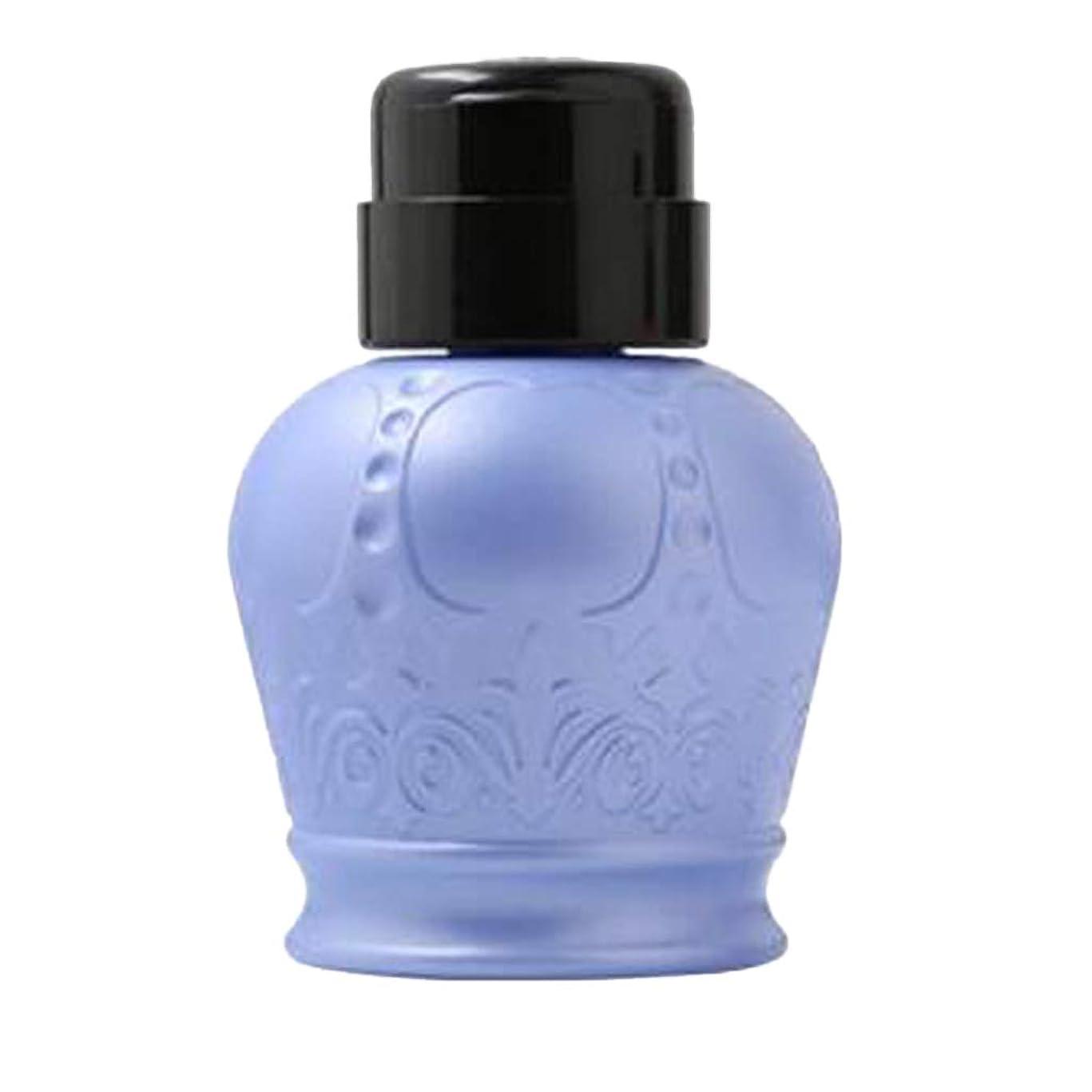 説明合併症フラフープgazechimp 全2カラー ネイルアート用ディスペンサー アクリルリムーバーボトル ポンプボトル - ブルー