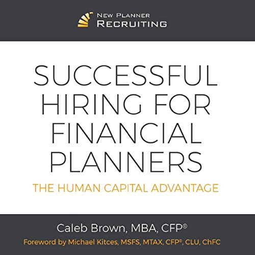 Successful Hiring for Financial Planners audiobook cover art