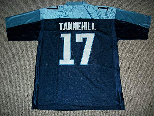 Unsigned Ryan Tannehill #17 Tennessee Custom Stitched Blue Football Jersey Various Sizes New No Brands/Logos Size Medium